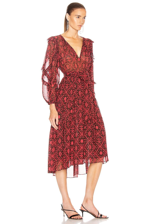 Image 2 of Ulla Johnson Aliya Dress in Fuchsia