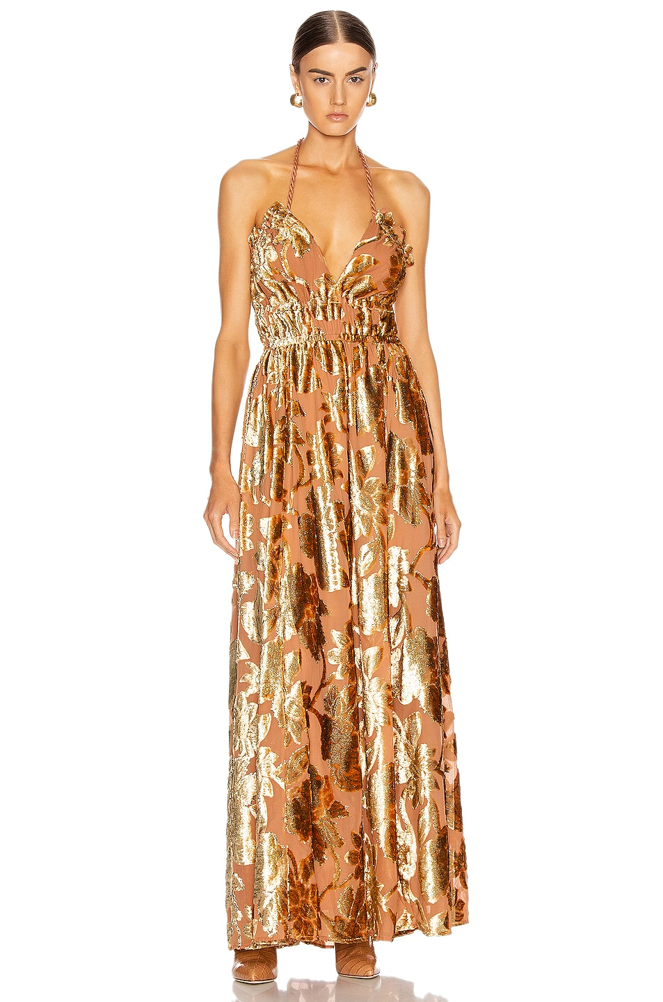 Image 1 of Ulla Johnson Gia Dress in Rose Gold