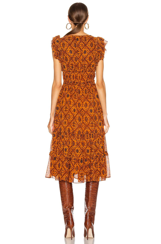 Image 3 of Ulla Johnson Anika Dress in Ochre