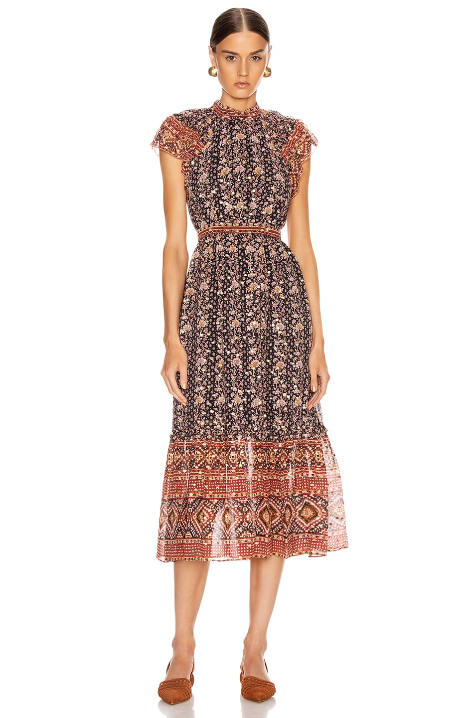 Image 1 of Ulla Johnson Alastair Dress in Midnight
