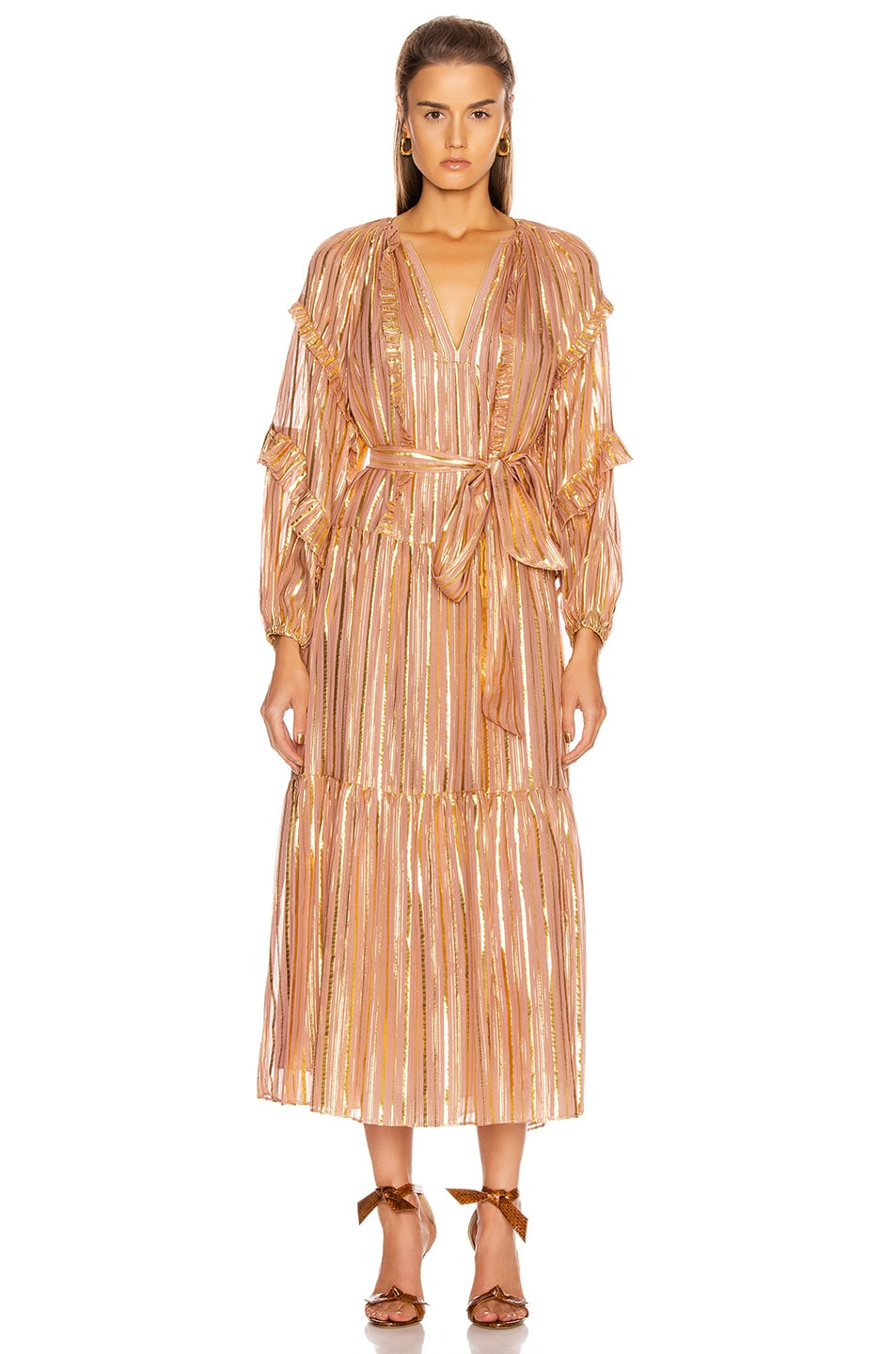 Image 1 of Ulla Johnson Talitha Dress in Rose