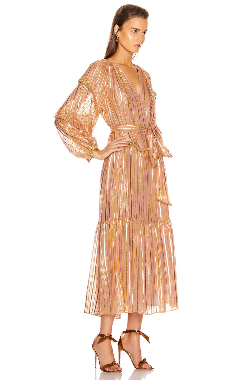 Image 2 of Ulla Johnson Talitha Dress in Rose