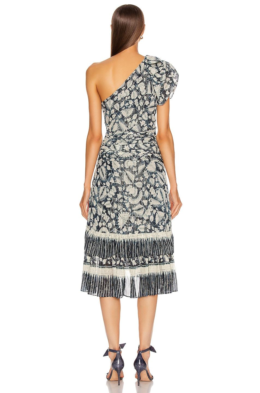 Image 4 of Ulla Johnson Anja Dress in Indigo