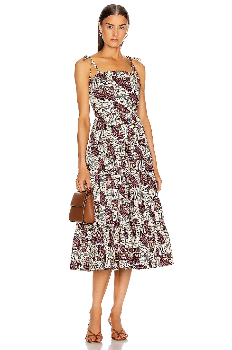 Image 1 of Ulla Johnson Ellyn Dress in Cream
