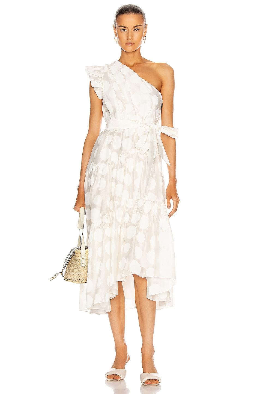 Image 1 of Ulla Johnson Ariane Dress in Blanc