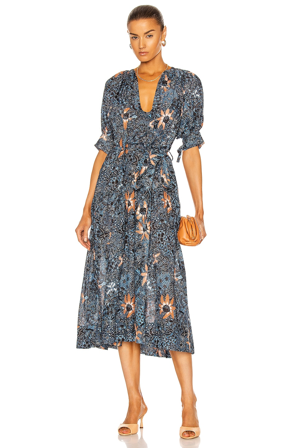 Image 1 of Ulla Johnson Selena Coverup in Azul