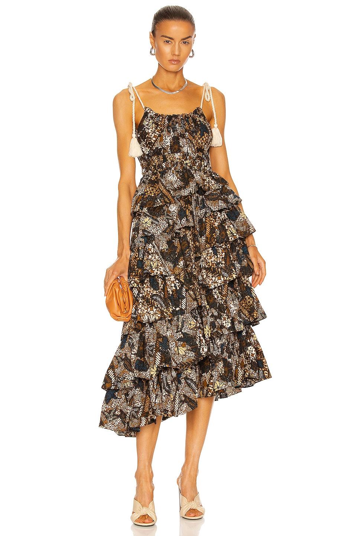 Image 1 of Ulla Johnson Estela Dress in Bronze