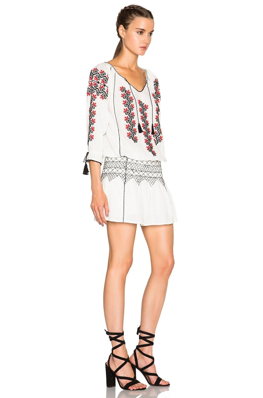 Image 3 of Ulla Johnson Samira Dress in Natural