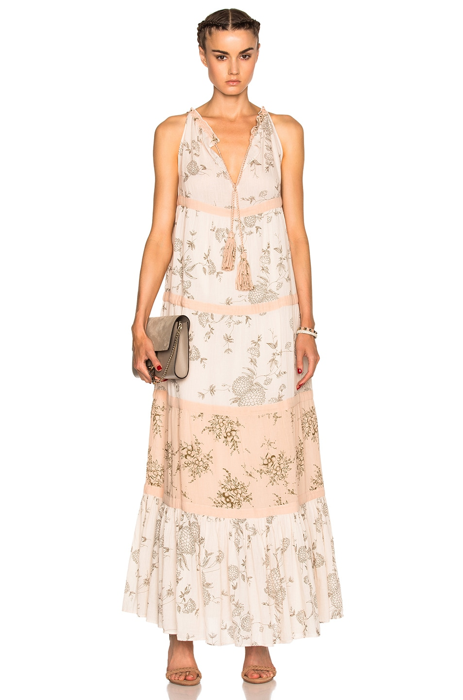 Image 1 of Ulla Johnson Goa Dress in Natural