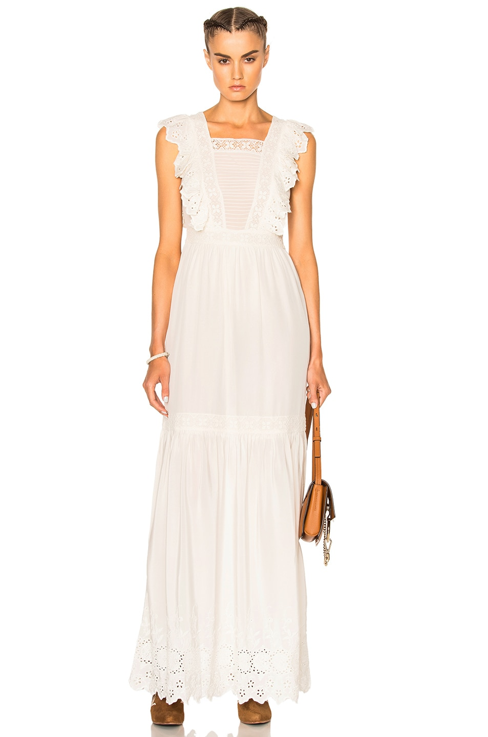 Image 1 of Ulla Johnson Amelie Dress in Snow