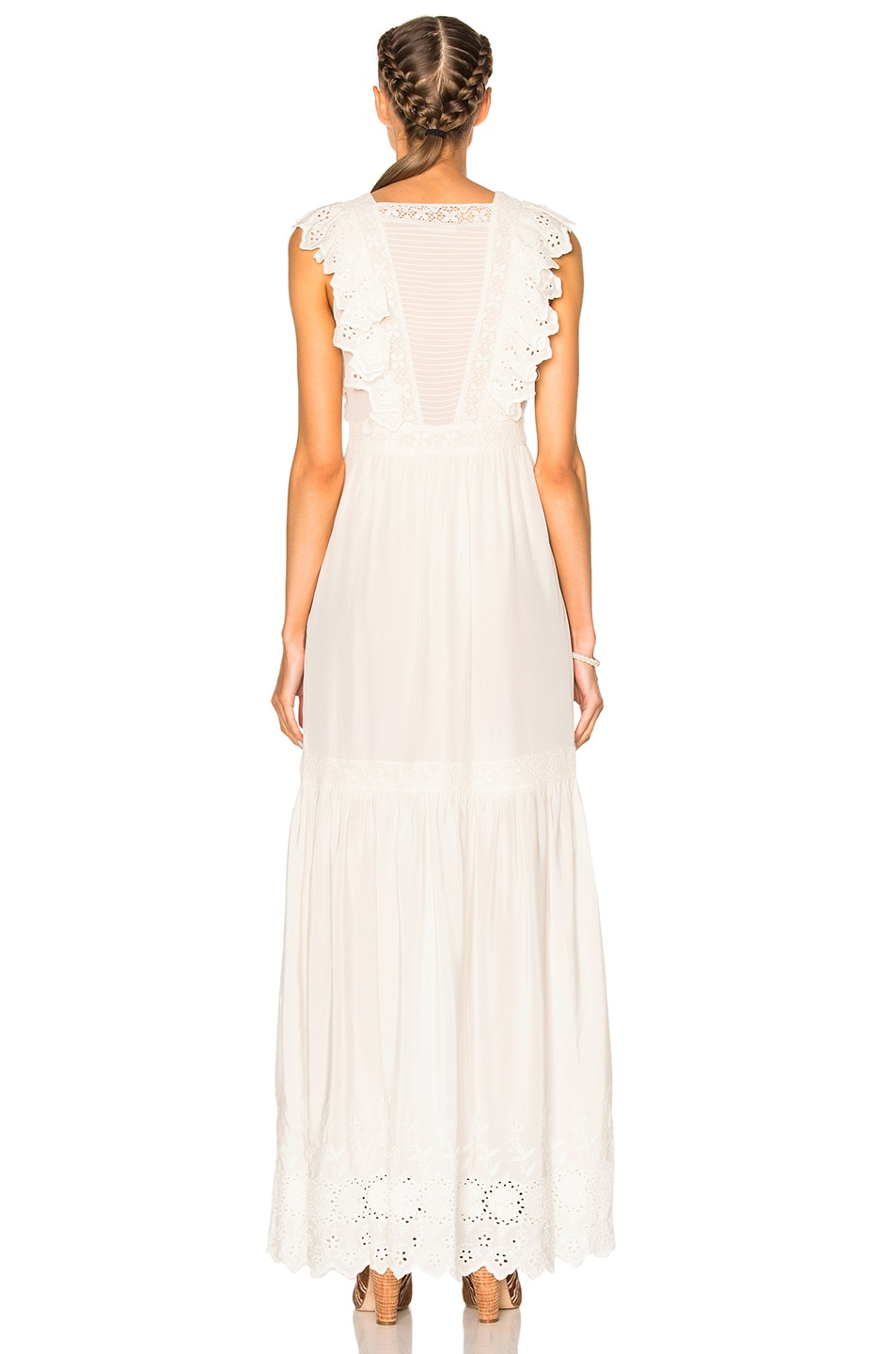 Image 4 of Ulla Johnson Amelie Dress in Snow