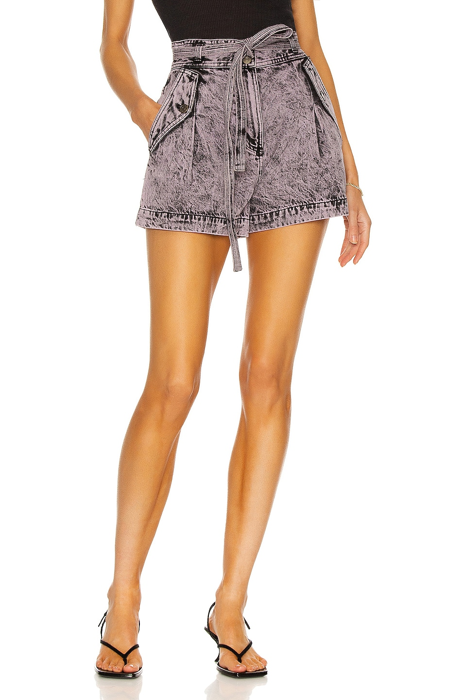 Image 1 of Ulla Johnson Alec Short in Lilac