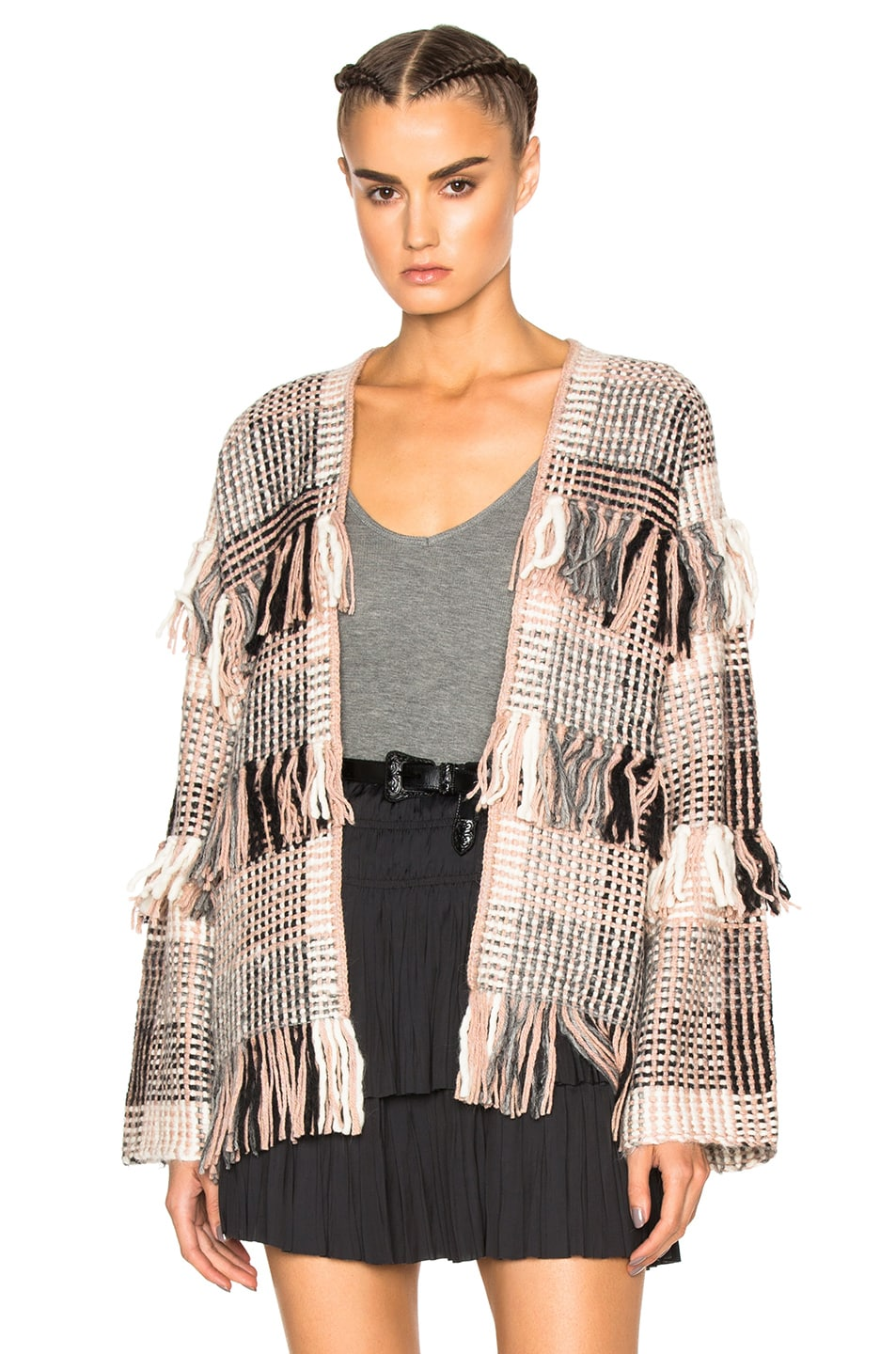 Image 1 of Ulla Johnson Elena Wrap in Mixte