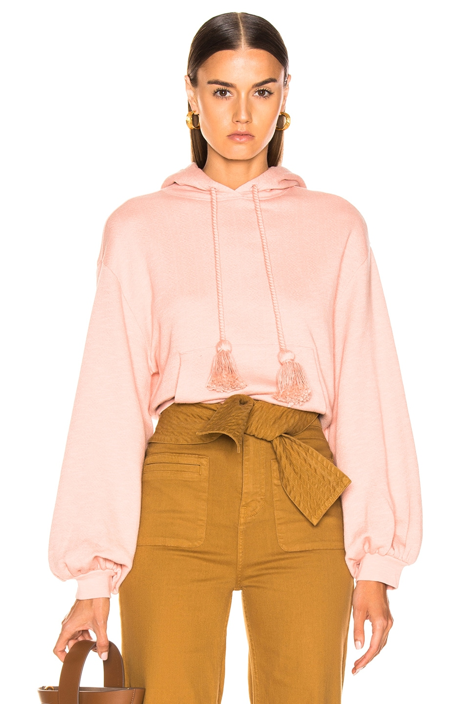 Image 1 of Ulla Johnson Mel Hoodie in Rose