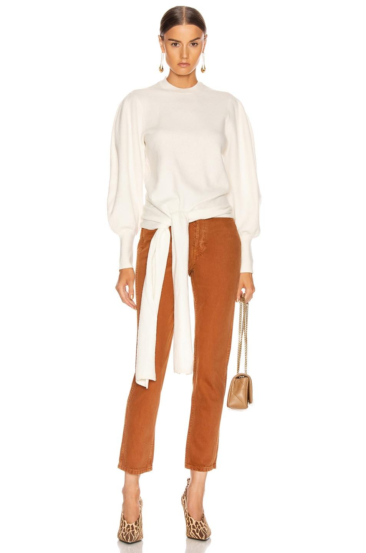 Image 1 of Ulla Johnson Tatiana Pullover Sweater in Blanc