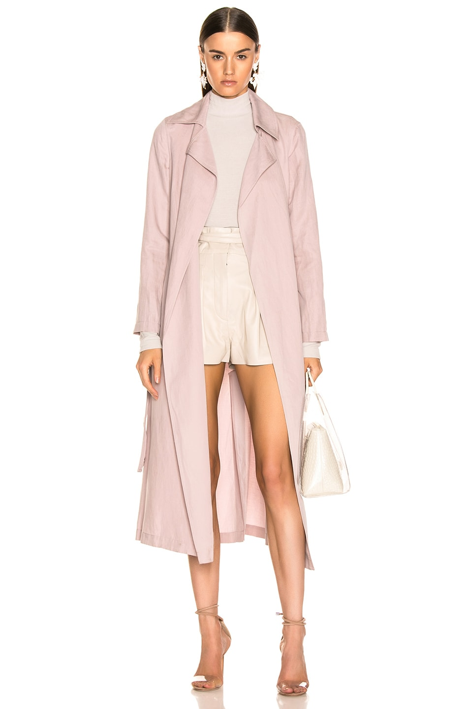 Image 1 of Ulla Johnson Maysa Trench in Violet