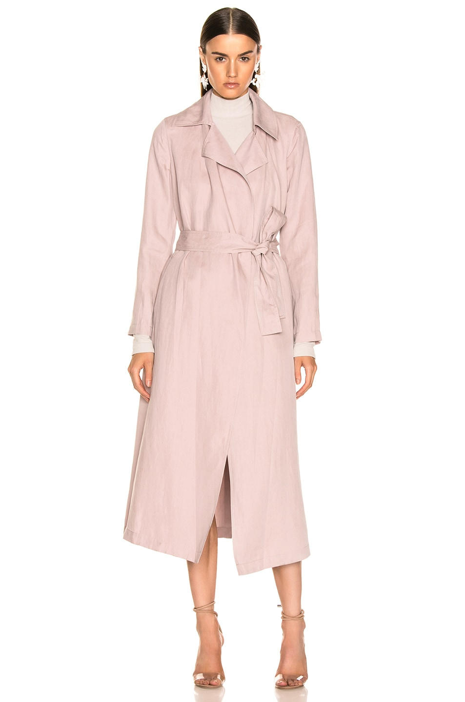 Image 2 of Ulla Johnson Maysa Trench in Violet