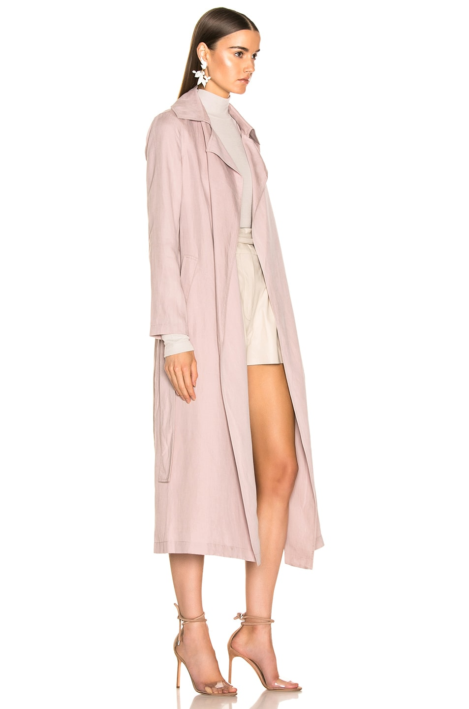 Image 3 of Ulla Johnson Maysa Trench in Violet