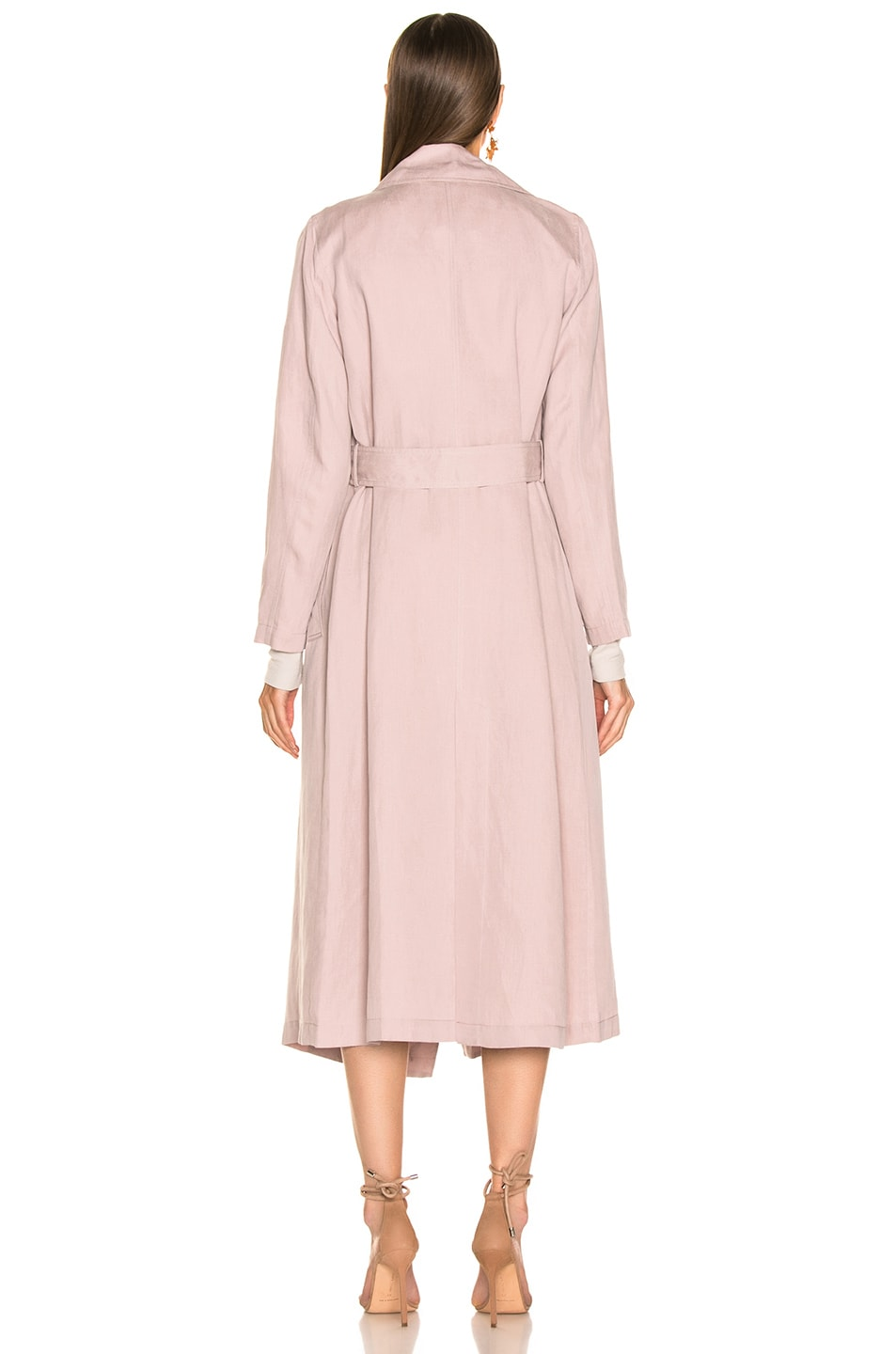 Image 4 of Ulla Johnson Maysa Trench in Violet