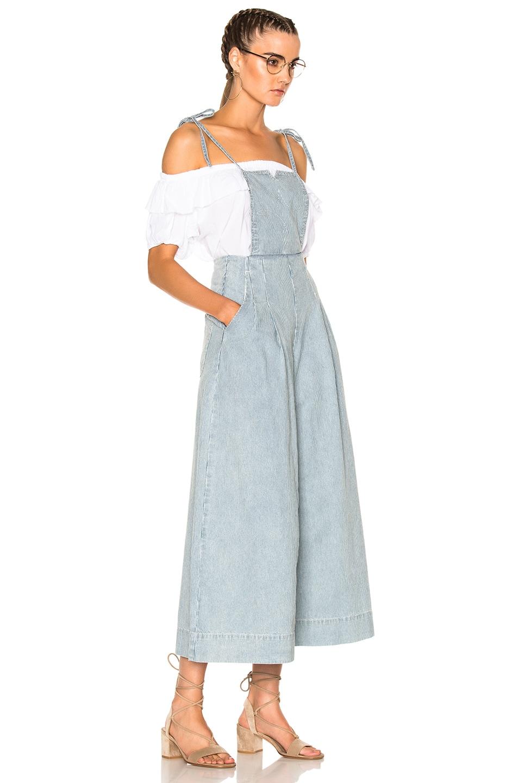 Image 3 of Ulla Johnson Rosina Overalls in Stripe