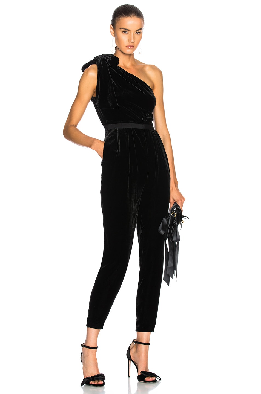 Image 1 of Ulla Johnson Tess Jumpsuit in Noir
