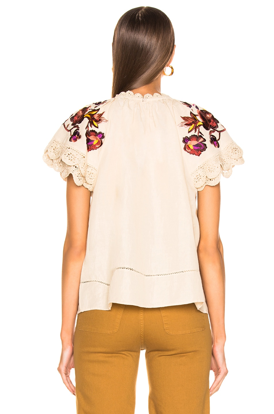 Image 3 of Ulla Johnson Rumi Top in Natural