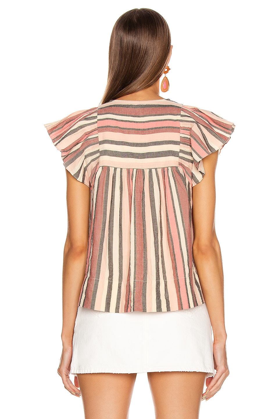 Image 3 of Ulla Johnson Amba Top in Rosewood