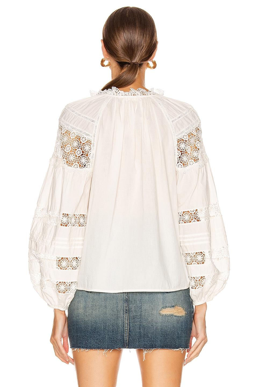 Image 3 of Ulla Johnson Gemma Top in Blanc