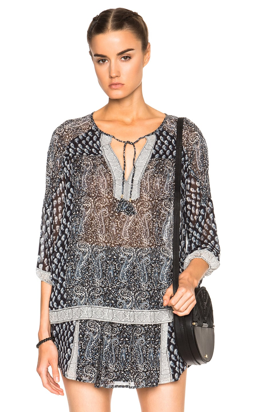 Image 1 of Ulla Johnson Aix Top in Mer