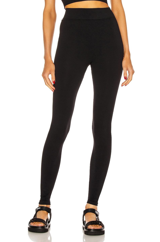 Image 1 of VAARA Alexis Essential Seamless Legging in Black