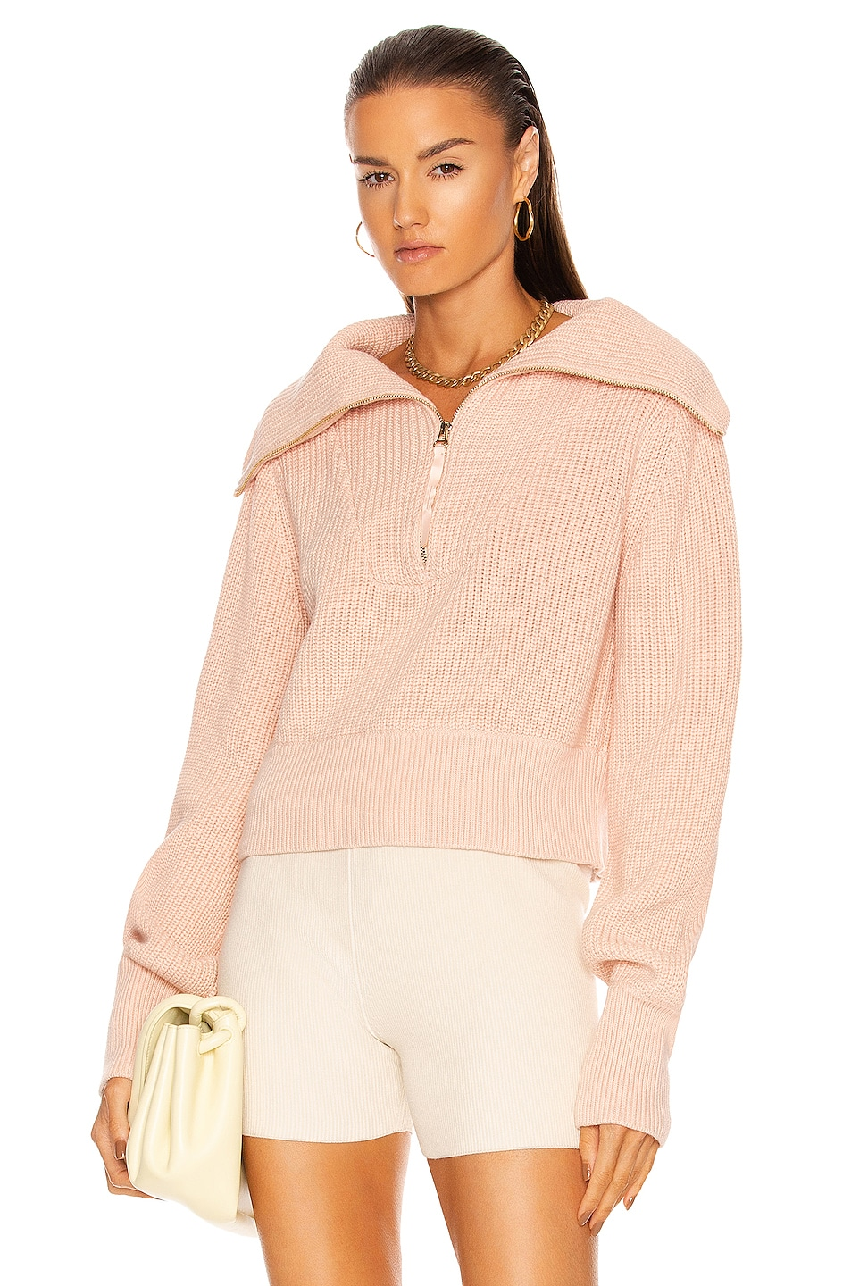 Image 1 of Varley Mentone Sweater in Puffy Pink