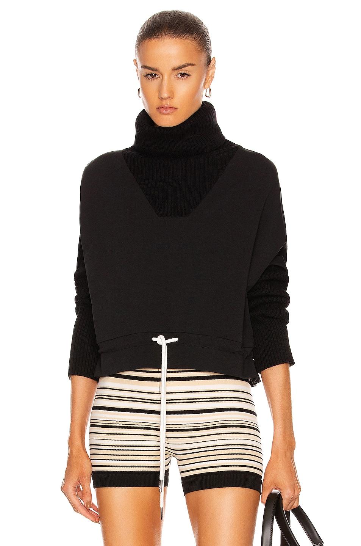 Image 1 of Varley Britannia Sweatshirt in Black