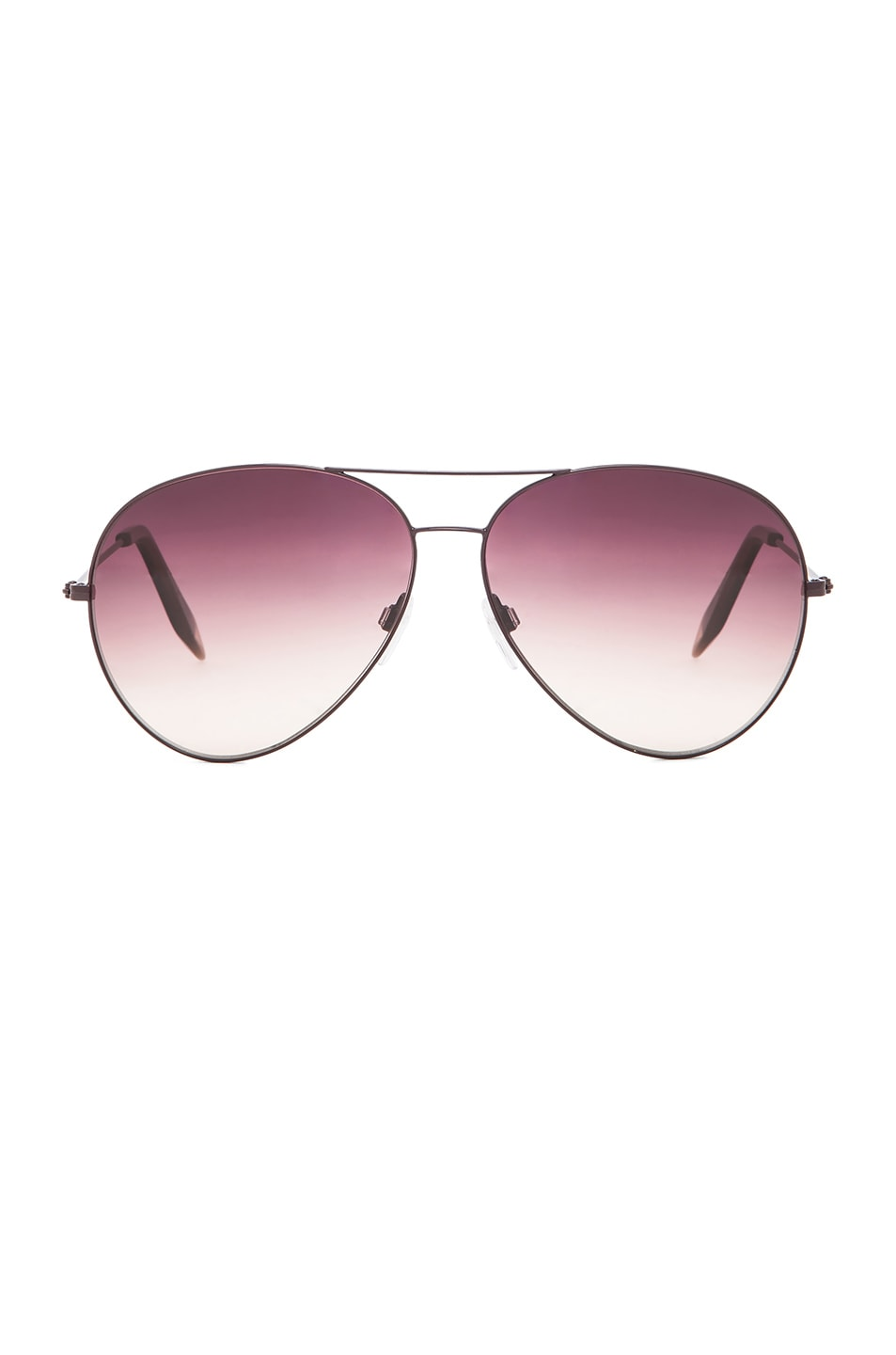 Image 1 of Victoria Beckham Classic Aviator in Mulberry
