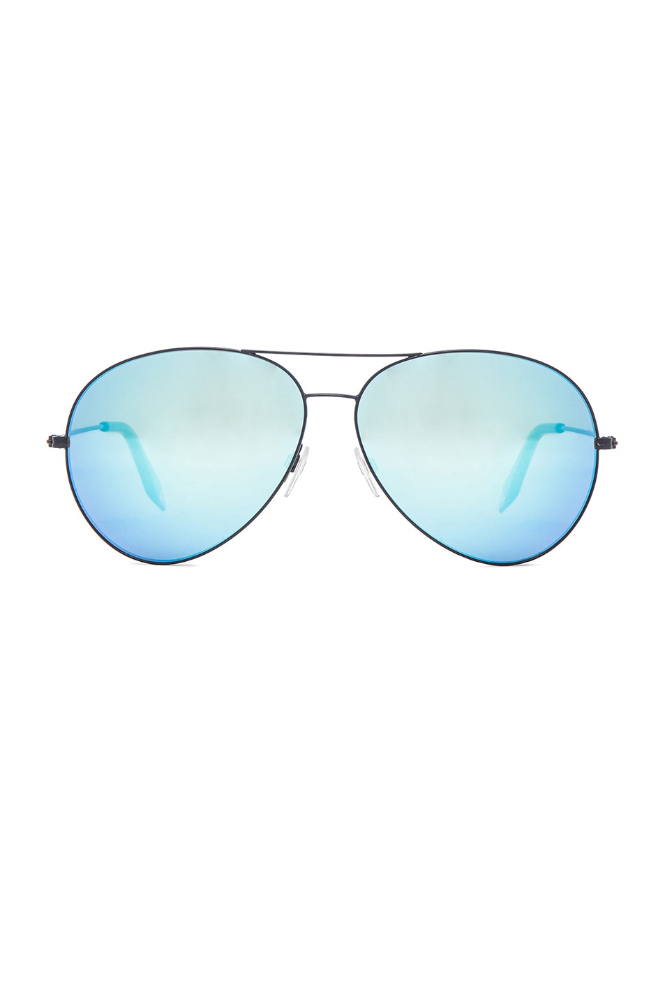Image 1 of Victoria Beckham FWRD Exclusive Classic Aviator in Airforce Sky Blue