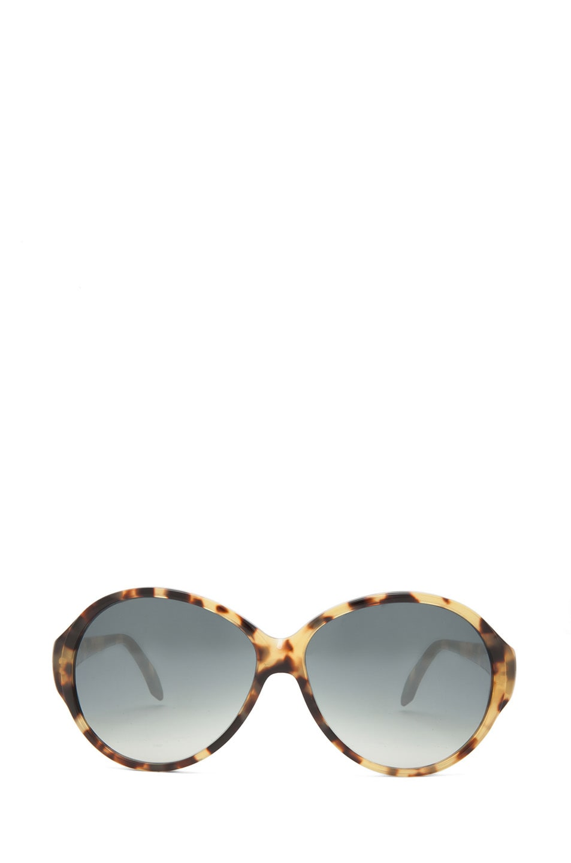 Image 1 of Victoria Beckham Loren 1 Sunglasses in Milky Tortoise