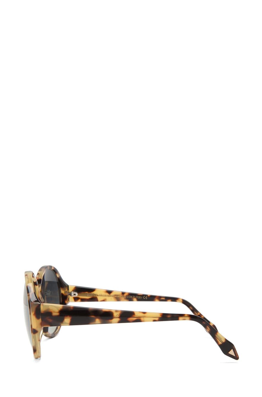 Image 3 of Victoria Beckham Loren 1 Sunglasses in Milky Tortoise