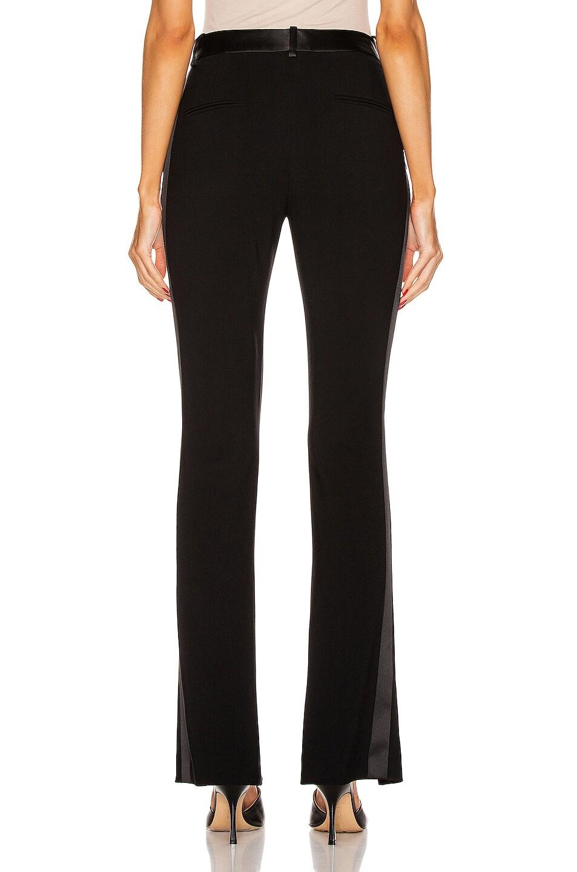 Image 3 of Victoria Beckham Front Split Tuxedo Trouser in Black