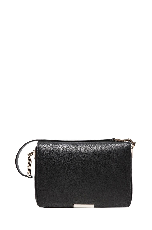 Image 1 of Victoria Beckham V Link Shoulder Bag in Black
