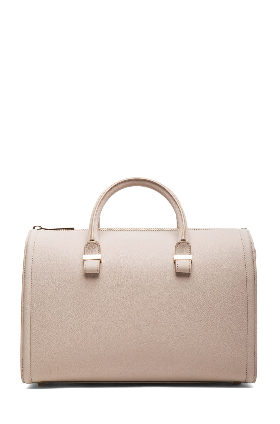 Image 1 of Victoria Beckham Mini VictoriaTote in Light Grey