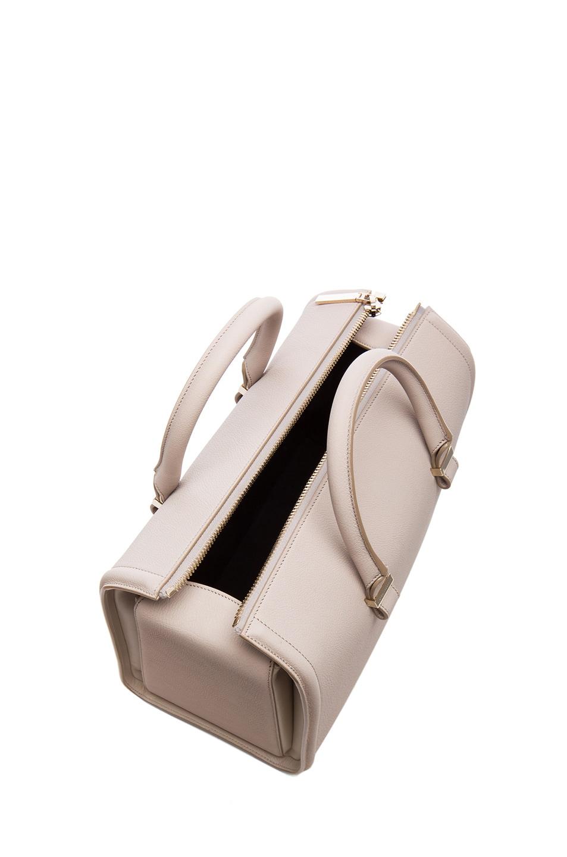 Image 4 of Victoria Beckham Mini VictoriaTote in Light Grey