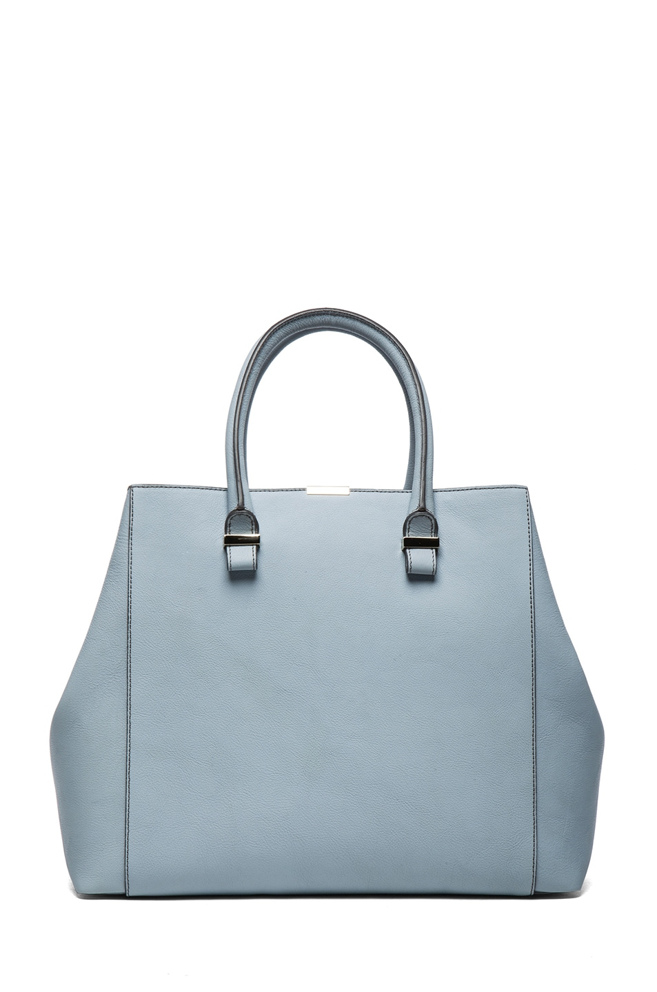 Image 1 of Victoria Beckham Liberty Bag in Rainy Day & Powder