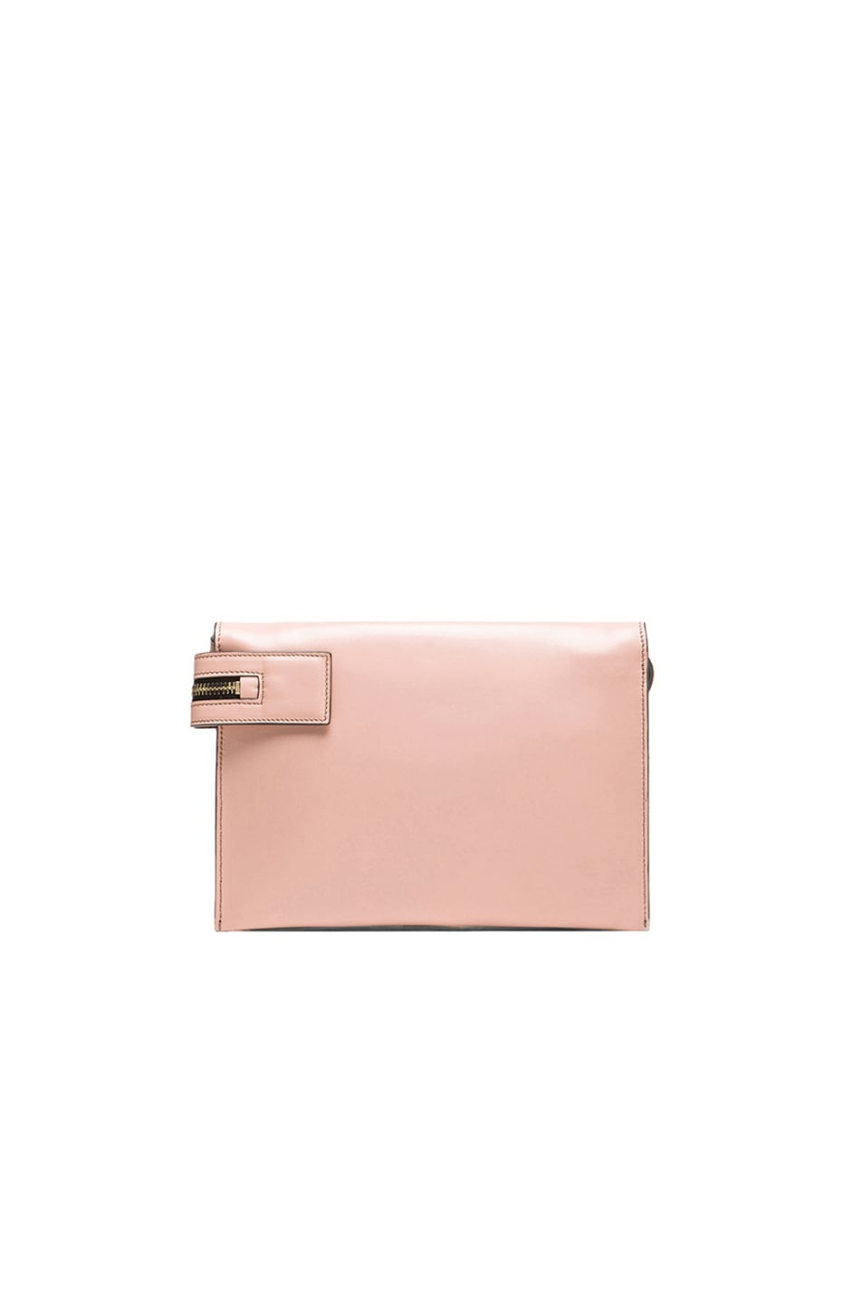 Image 3 of Victoria Beckham Zip Pouch Cross Body in Blush Pink
