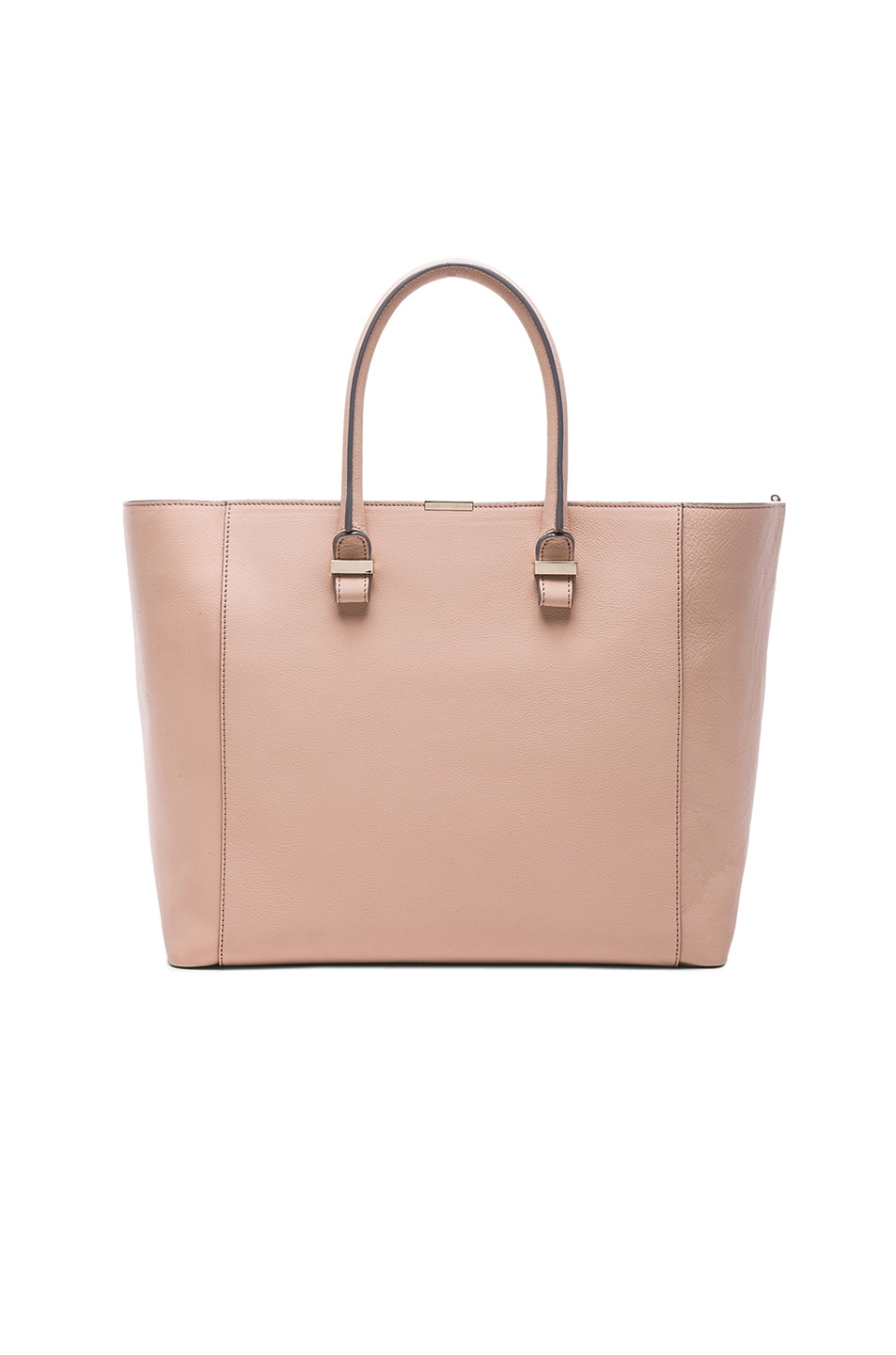 Image 1 of Victoria Beckham Liberty Tote in Nugat
