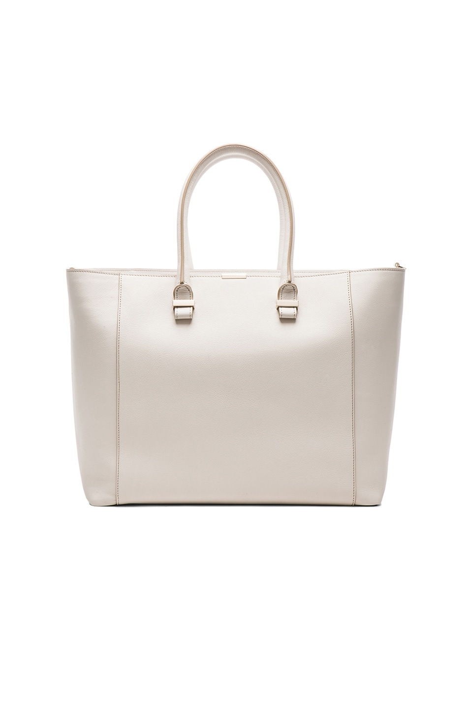 Image 1 of Victoria Beckham Liberty Tote in Moonshine