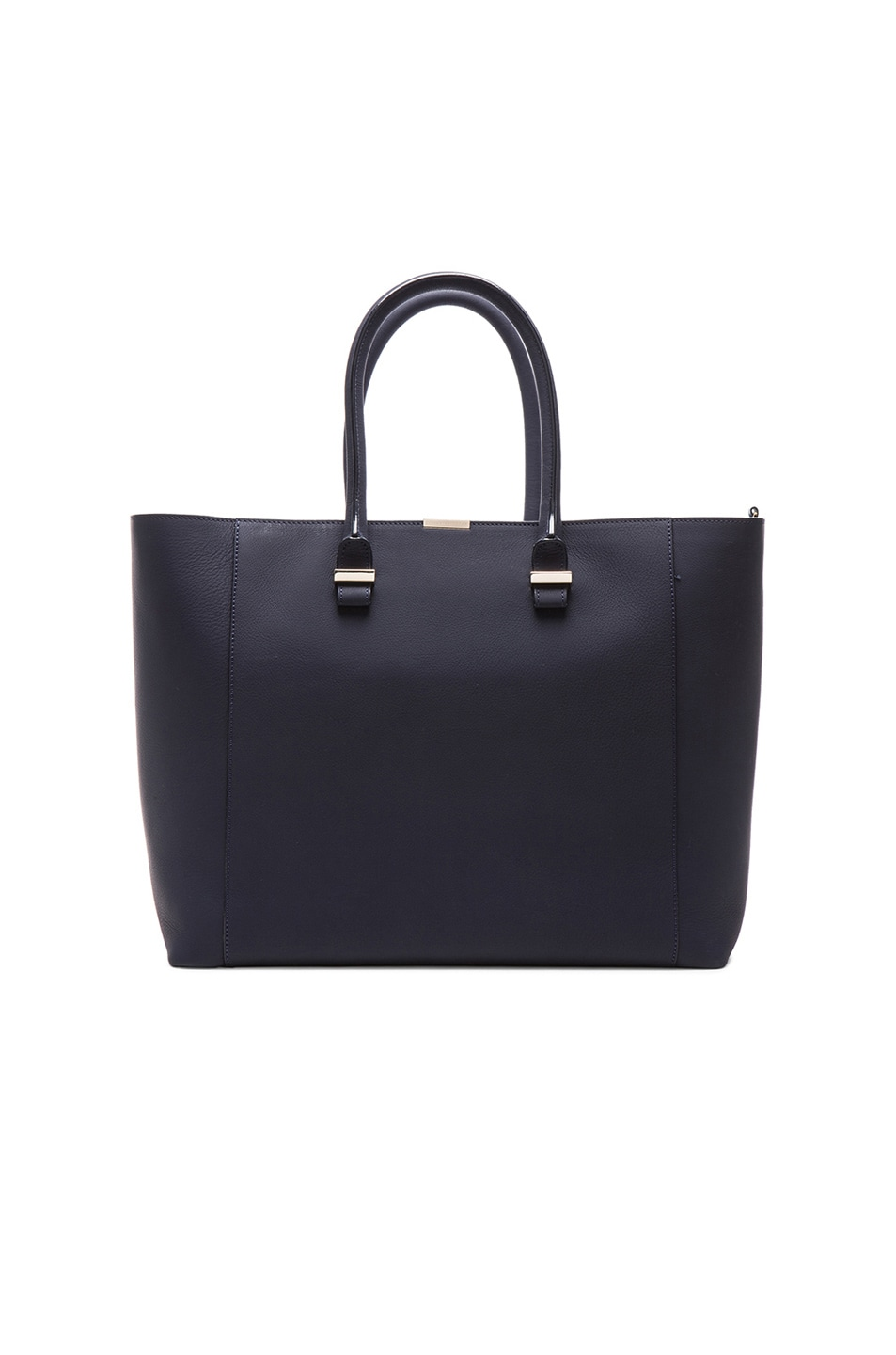 Image 1 of Victoria Beckham Liberty Tote in Navy