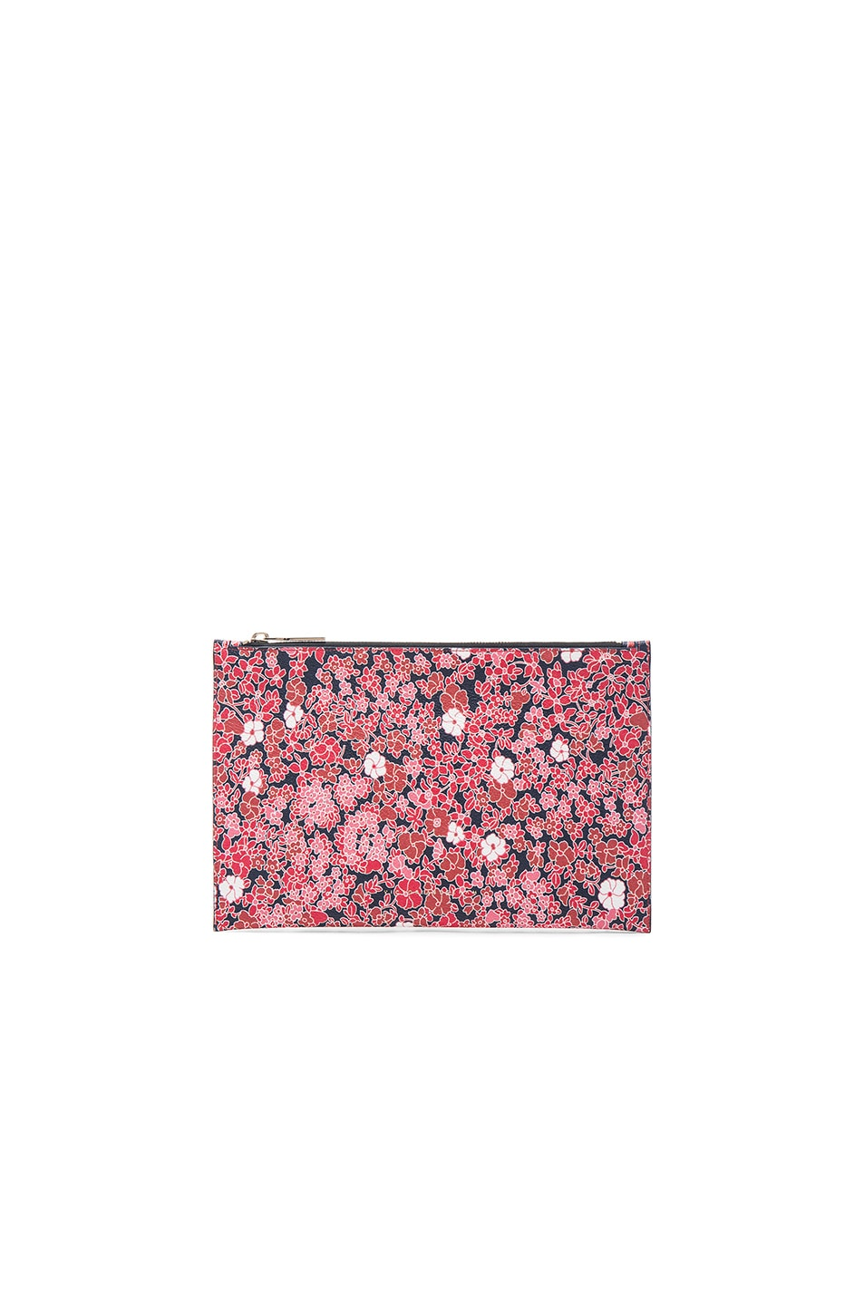 Image 1 of Victoria Beckham Small Simple Pouch in Floral