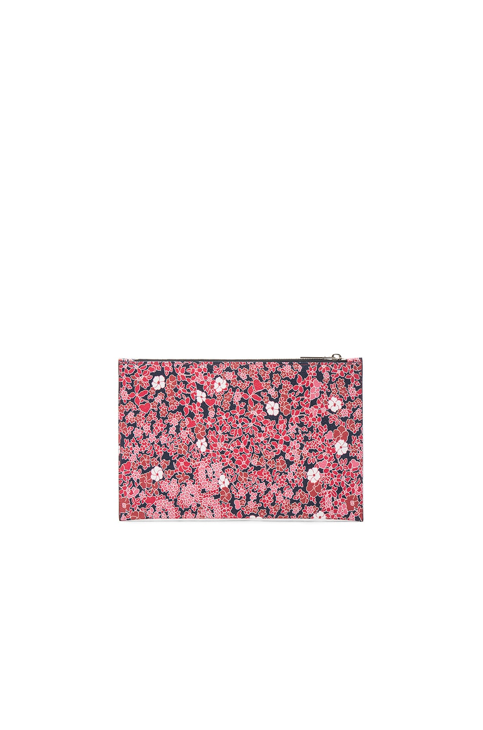 Image 3 of Victoria Beckham Small Simple Pouch in Floral