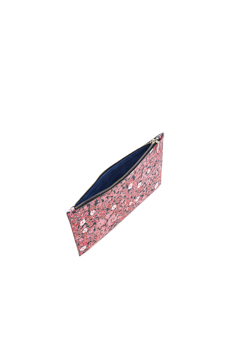 Image 5 of Victoria Beckham Small Simple Pouch in Floral