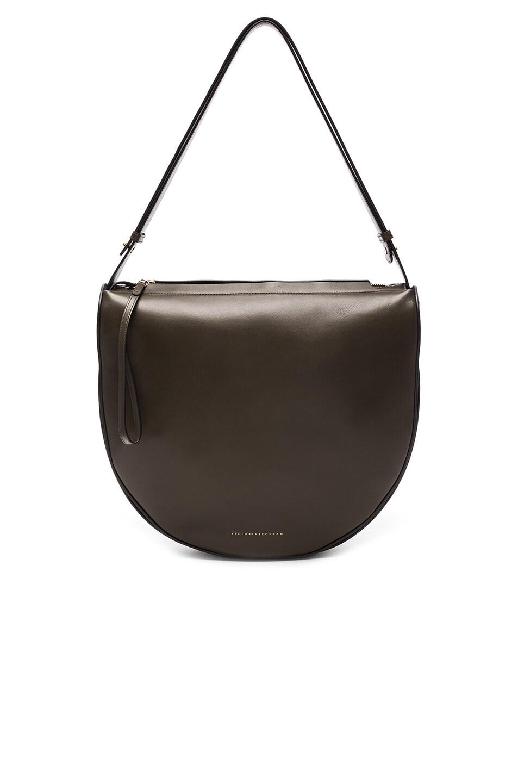 Image 1 of Victoria Beckham Swing Bag in Khaki