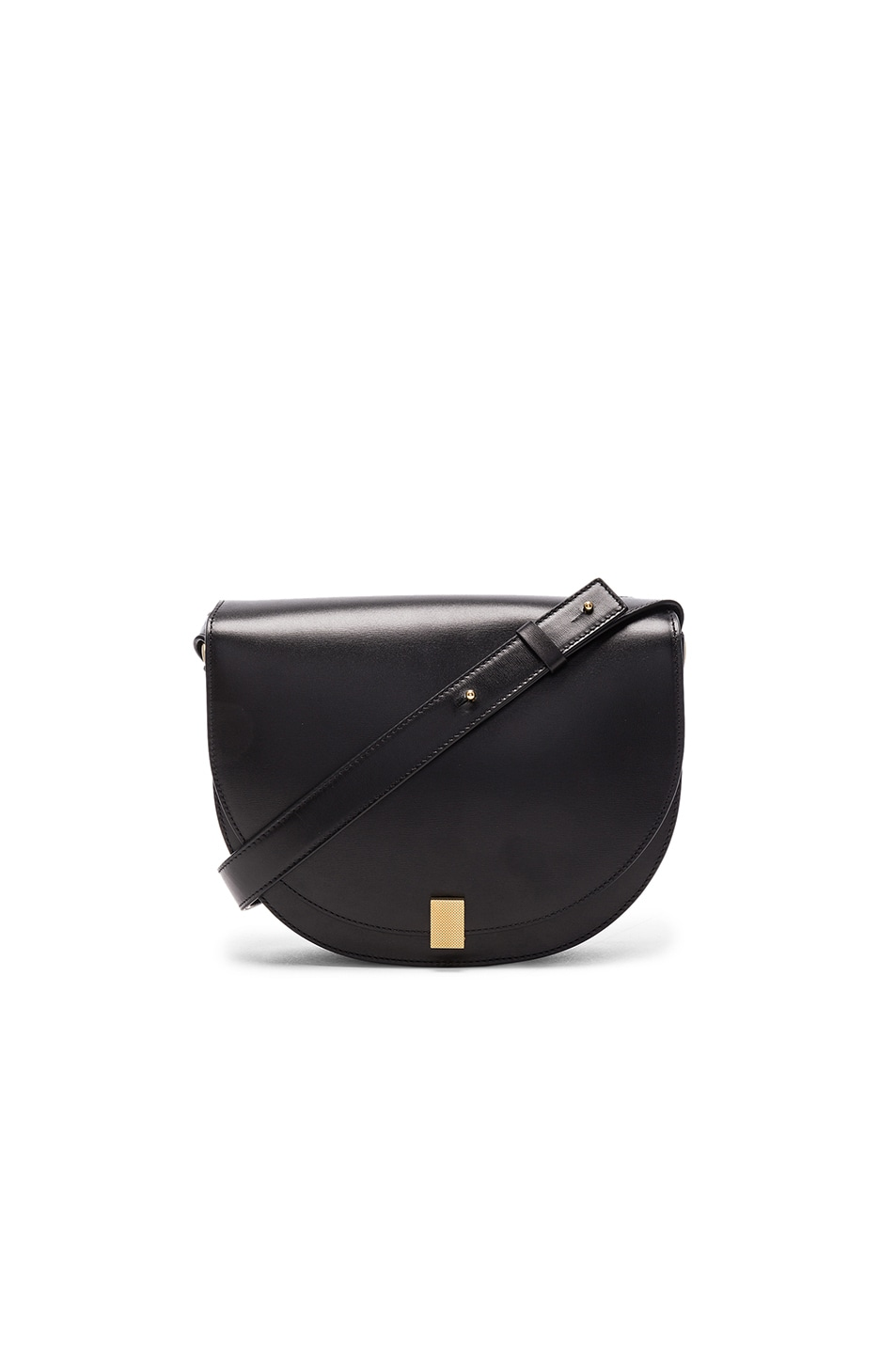 Image 1 of Victoria Beckham Half Moon Box Bag in Black